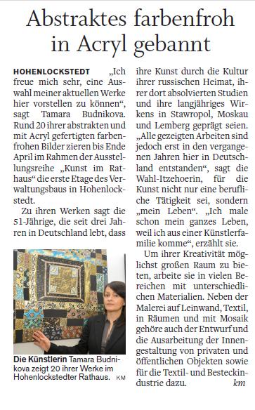 Norddeutsche_Rundschau_Artikel_09032016