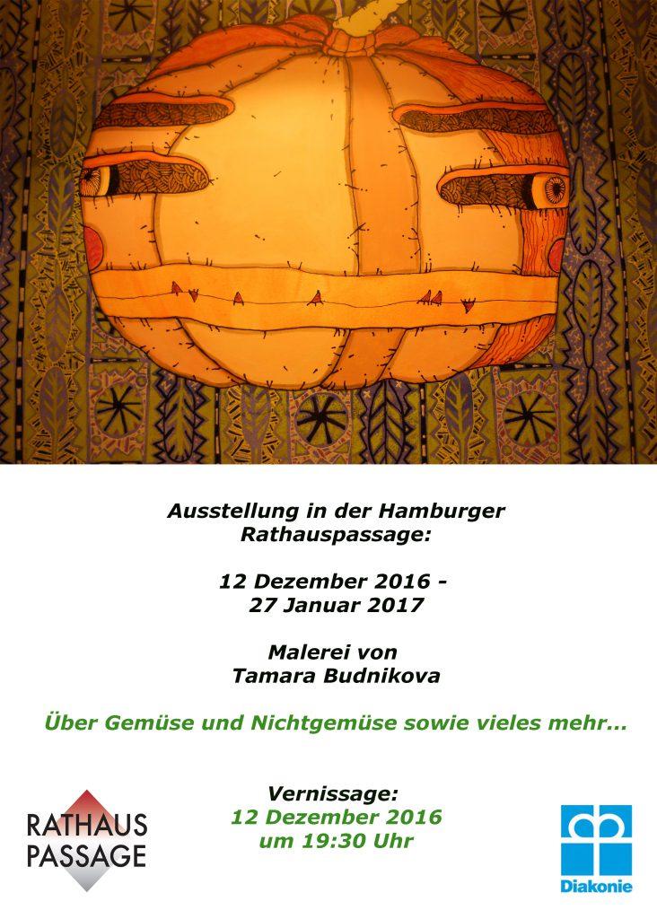 Neue Ausstellung in der Rathauspassage Hamburg